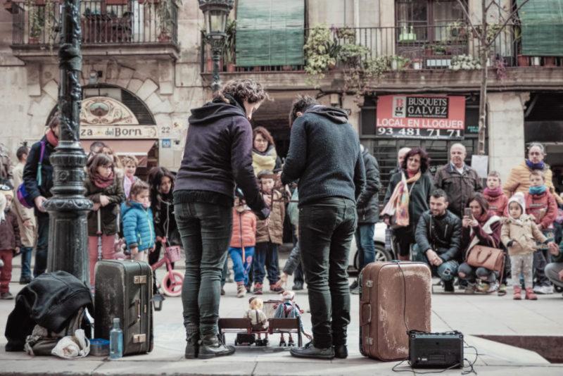 Burattini a Barcellona