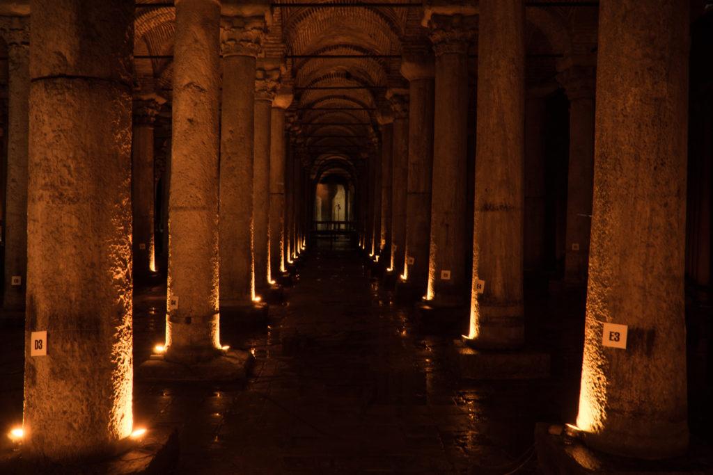 Istanbul, Cisterna Basilica