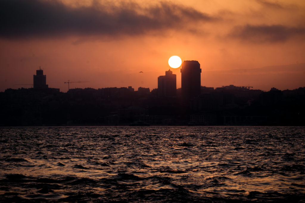 Istanbul, Sunset