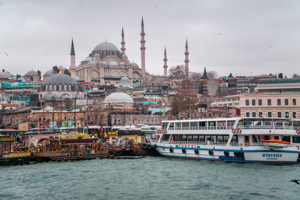 Moschea Solimano Istanbul