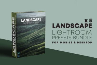 EPIC LANDSCAPE – Lightroom Presets Bundle